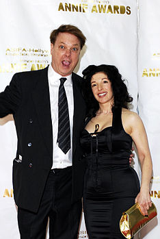 Annie Awards Bill plimpton wife.jpg