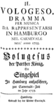 Anonymous - Il Vologeso - titlepage of the libretto - Hamburg 1755.png