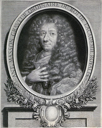Antoine Masson - Antoine Masson, engraved by Masson after a painting by Pierre Mignard.