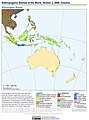 Anthropogenic Biomes of the World, Version 2, 2000 Oceania (13603961633).jpg