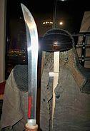 Antique Japanese (samurai) naginata