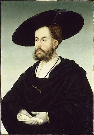 Anton Fugger - Portrait by Hans Maler