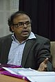 Anupam Basu - Panel Discussion - Collaboration with Academic Institutes for the Growth of Wikimedia Projects in Indian Languages - Bengali Wikipedia 10th Anniversary Celebration - Jadavpur University - Kolkata 2015-01-10 3464.JPG