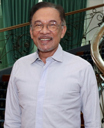 Präsident Anwar Ibrahim