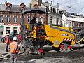 Anzin & Valenciennes - Travaux de raccordement des lignes A & B du tramway de Valenciennes à la Croix d'Anzin le 13 août 2013 (52).JPG