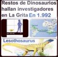 Apariencia del Lesothosaurus, antes se describia asi al Unico Dinosaurio descubierto en Venezuela.png