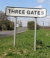 Approaching Three Gates - geograph.org.uk - 147934.jpg