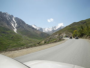 Salang Pass - Image: Approaching the Salang tunnel b