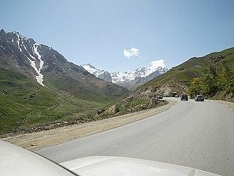 Salang Pass - Image: Approaching the Salang tunnel b