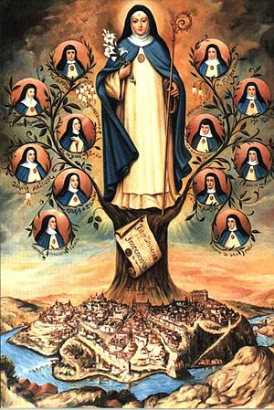 Conceptionists - The Order of the Immaculate Conception was founded by Saint Beatrice of Silva.