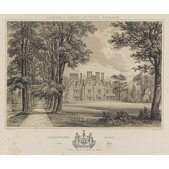 Arborfield Hall - Arborfield Hall c. 1850