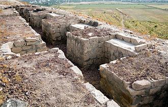 Armavir Province - Reconstructed walls of ancient Argishtikhinili