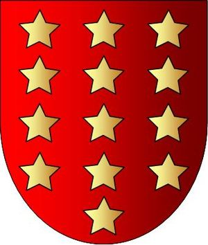 Antonella Kerr, Marchioness of Lothian - Dowager Marchioness of Lothian's maternal ancestral Salazar arms