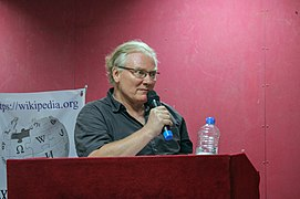 Armin Steigenberger speaks 'About German Poetry' at EDU (02).jpg