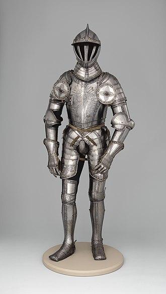 Armor of Ferdinand I, Holy Roman Emperor - Image: Armor of Emperor Ferdinand I (1503–1564) MET DP 12881 007