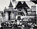 Arrival of the King of Siam at the Temple of Sleeping Idol Wellcome V0037059.jpg