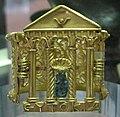 Arte tardo egizia, braccialetto a forma di porta magica in oro e bronzo, alessandria, IV-inizio V sec. ac. 02.JPG
