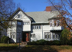 Arthur Alden House - Image: Arthur Alden House Quincy MA 01