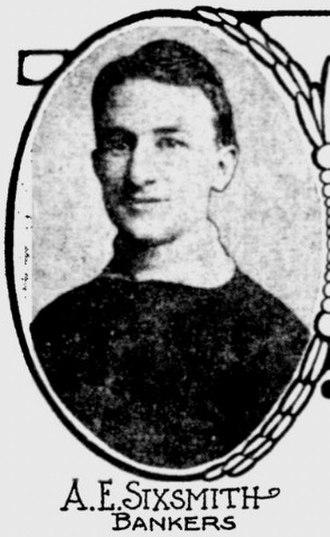 Arthur Sixsmith - Sixsmith around 1908.