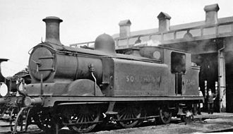Ashford railway works - Image: Ashford Locomotive Depot geograph 2653323 by Ben Brooksbank