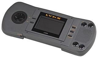 Atari Lynx handheld game console
