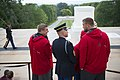Atlanta Falcons Leadership and Players Lay a Wreath at the Tomb of the Unknown Soldier at Arlington National Cemetery (35219830711).jpg