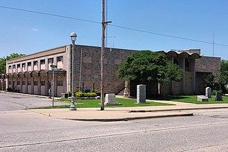 Atoka County, Oklahoma - Image: Atoka county ok courthouse
