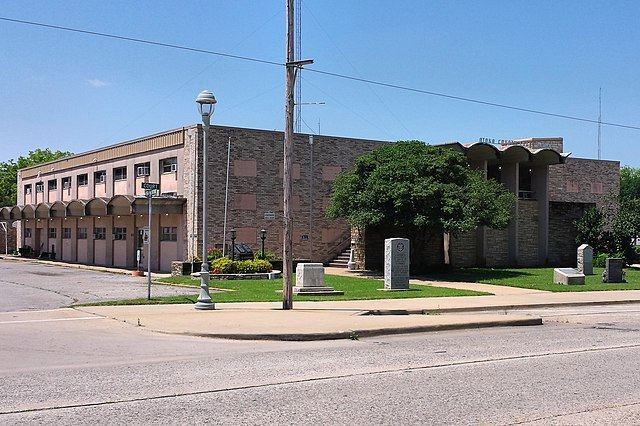 Atoka (OK) United States  City pictures : ... : The Atoka County Courthouse in Atoka, Oklahoma, United States