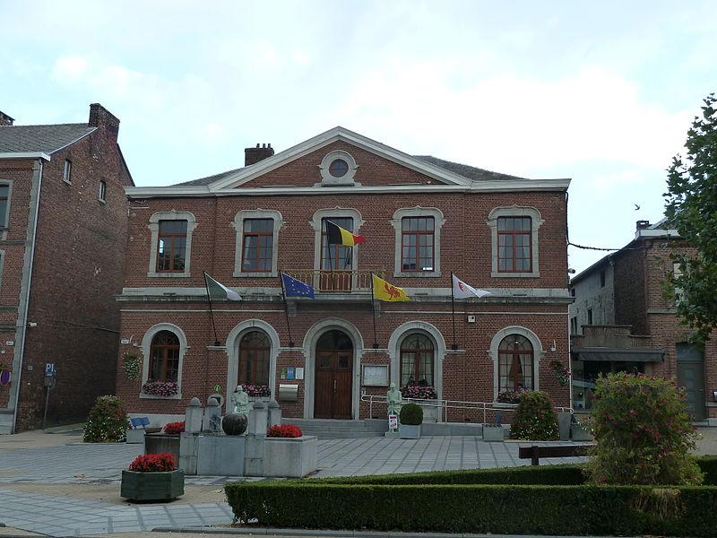 Gemeentehuis Aubel, België