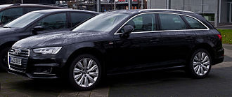"Station wagon - Audi A4 ""Avant"""