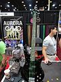 Aurora Cavo strings on Ibanez bass, 2010 Summer NAMM.jpg