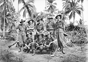 2/7th Battalion (Australia) - Image: Australian 2 7th Inf Bn New Guinea August 1945 (AWM image 095449)