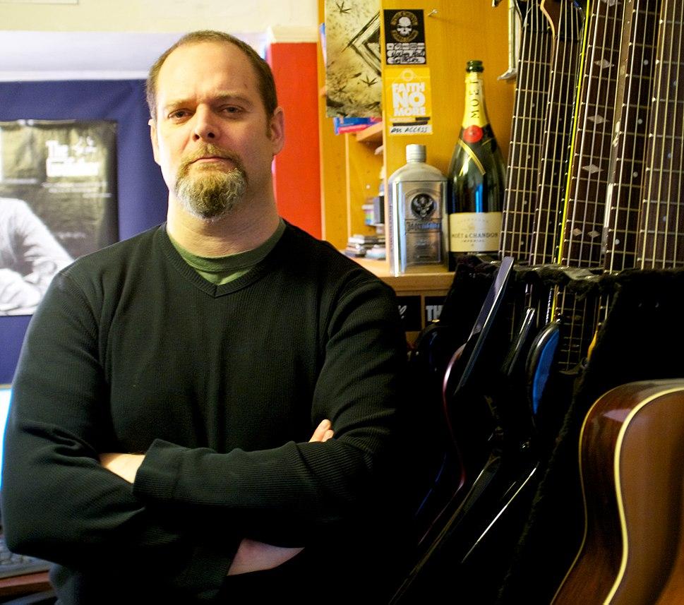 Author Joel McIver, 2013