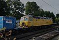 Autumn 'leaf-buster', Network Rail water cannon spray equipment arrives at Royston. - panoramio.jpg