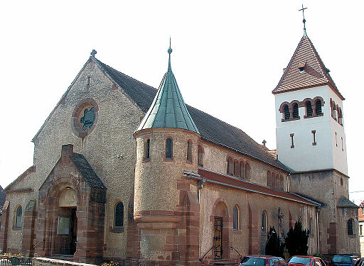 Avolsheim - Eglise Saint-Materne -1