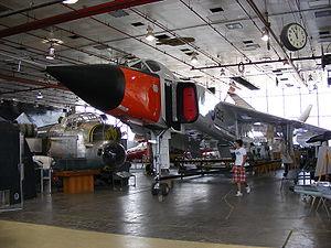 Avro Arrow Replica CanadianAirAndSpaceMuseum Toronto.jpg