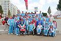 Azerbaijan team at the 2012 Summer Paralympics.JPG