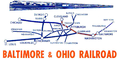 B&O Cleveland Night Express route.png