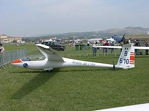 Centrair Pegase - Image: B610 a Centrair C.101A Pégase Glider EPNA 15.312 Salon de Provence (3113973060)