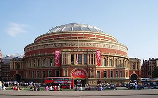 The Proms Summer season of daily orchestral classical music concerts in London, UK