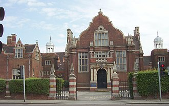 Bedford High School, Bedfordshire - Image: BHSG1