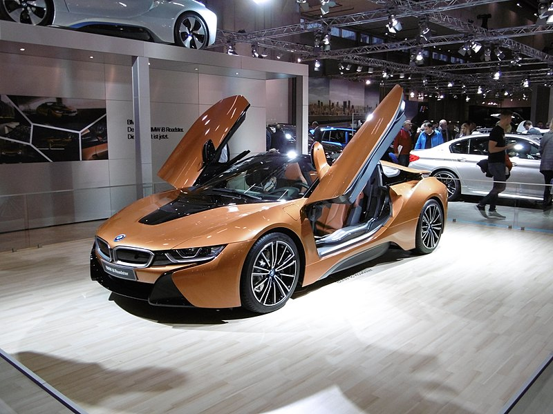 File:BMW i8 Roadster (5) - Vienna Autoshow 2018.jpg