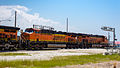 BNSF Passing Through Claremore - Part II (7191570080).jpg
