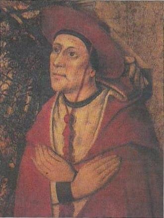 Pope Callixtus III - Cardinal Borgia
