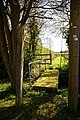 Bacon End footpath bridge, Great Canfield, Essex, England 01.jpg