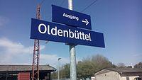 Bahnhofsschild • Bahnhof Oldenbüttel.jpg