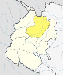 Location of Bajhang District