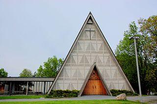 Bakkehaugen Church Church in Oslo, Norway