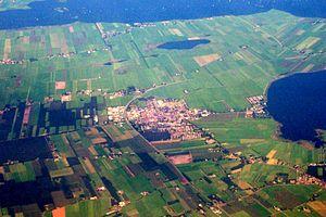 Gaasterlân-Sleat - Aerial photo of Balk