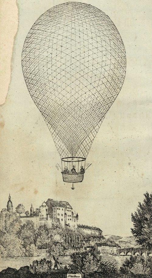 Balloon Charles Green 1836